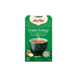 Bio Zelená energie Yogi Tea 17 x 1,8 g