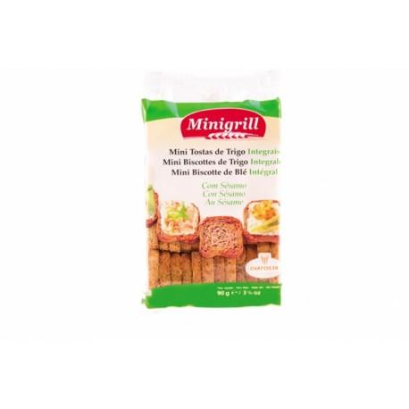 Pšeničné celozrnné suchary - Minigrill 90g