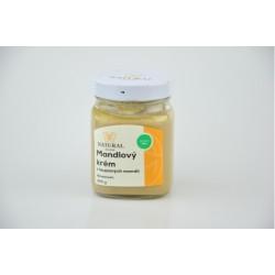 Mandlový krém z loupaných mandlí - Natural 300g